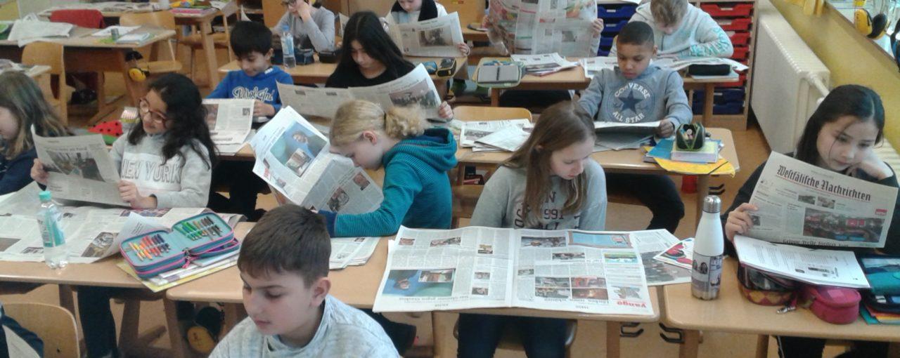 Zeitungsprojekt KLASSE