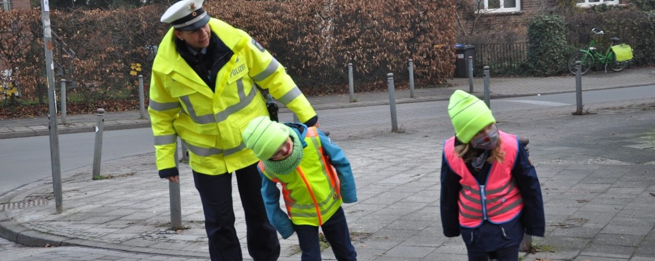 Verkehrspolizistin